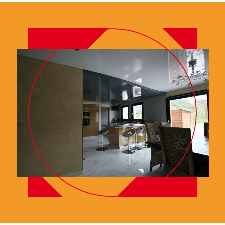 Pose r novation de plafonds tendus teint lumineux - Refaire plafond apres degats des eaux ...